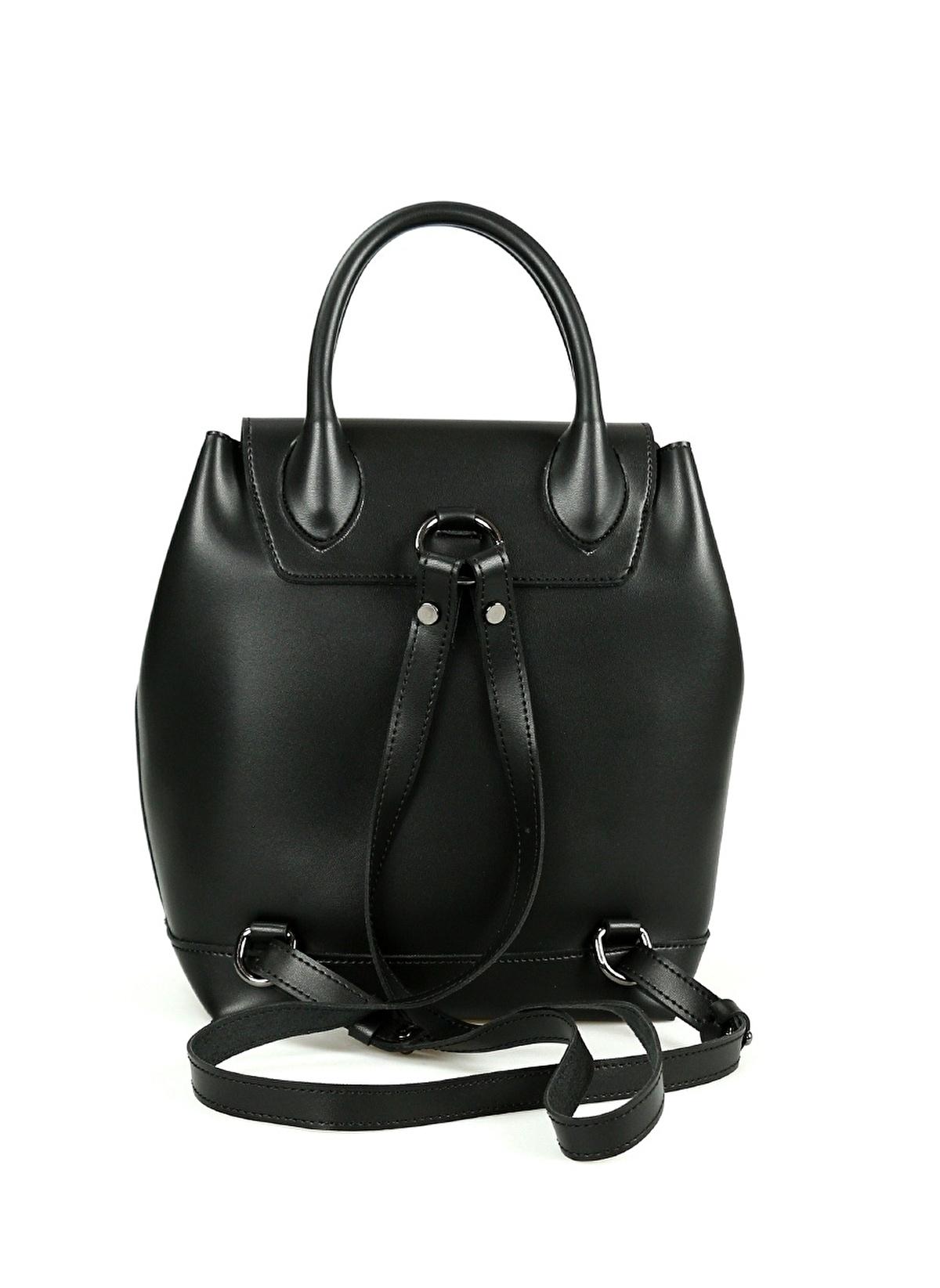 fd3382c8f5 Santa Polo Kadın Sırt Çantası Siyah